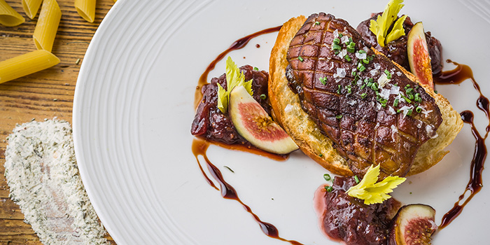 Pan Seared Foie Gras, Bistecca Italian Steak House, Central, Hong Kong