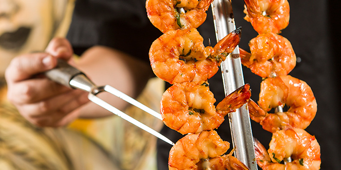 Prawn, Braza Churrascaria Brazilian Steakhouse, Central, Hong Kong