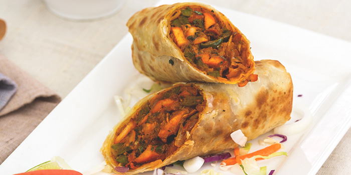 Chicken Kathi Roll from RAS The Essence of India in Clarke Quay, Singapore