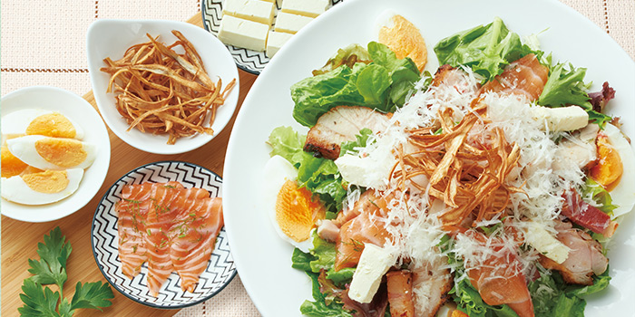 Salad, GOCHISO, Sha Tin, Hong Kong