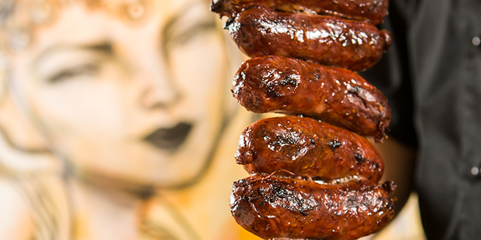 Sausages, Braza Churrascaria Brazilian Steakhouse, Central, Hong Kong