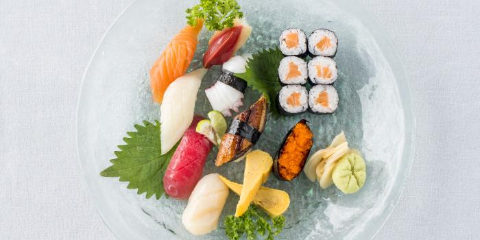Sushi from Hansha in Nai Harn, Phuket, Thailand.