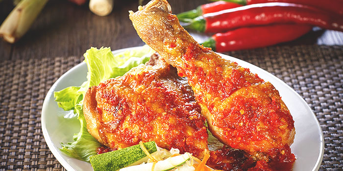 Ayam Belado from Tambuah Mas Indonesian Restaurant at Tanglin Shopping Centre in Tanglin, Singapore