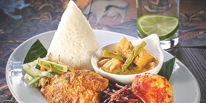 Nasi Campur from Tambuah Mas Indonesian Restaurant at Tanglin Shopping Centre in Tanglin, Singapore