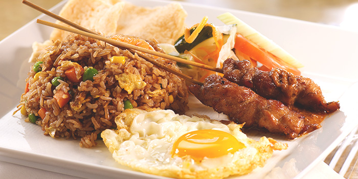 Nasi Goreng Istimewa from Tambuah Mas Indonesian Restaurant at Tanglin Shopping Centre in Tanglin, Singapore