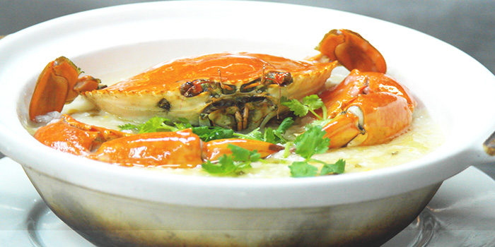 Crab Porridge from Tonny Restaurant at Geylang in Kallang, Singapore
