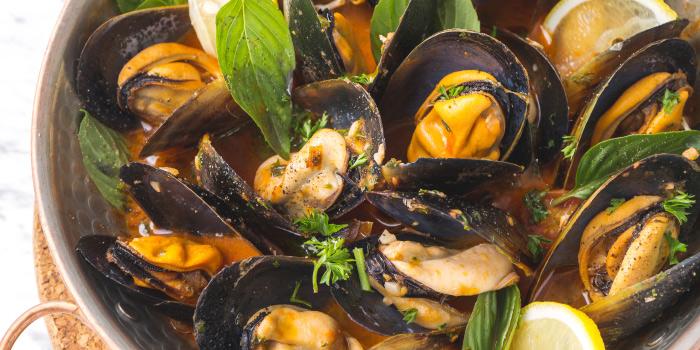 Tasmanian-Mussels-Marinara-sauce from The Dock at The Maze Thonglor, Bangkok