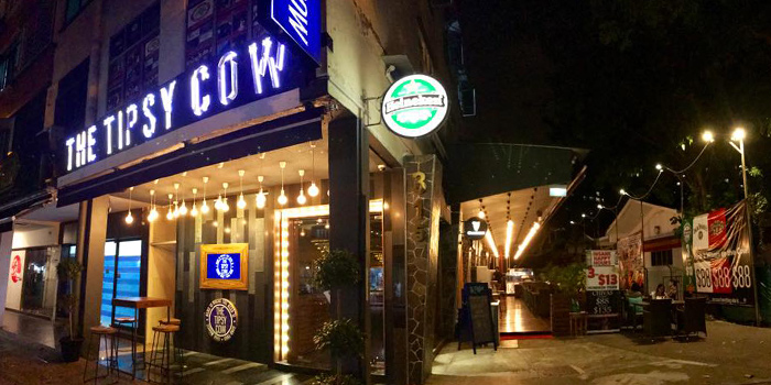 Exterior of The Tipsy Cow (Katong) in Marine Parade, Singapore