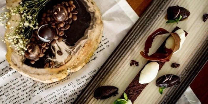 Dessert at Opia, Bali