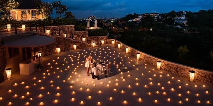 Romantic Dinner at Opia, Bali