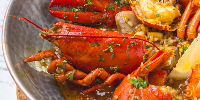 Whole-Juicy-Lobster-Rice from The Dock at The Maze Thonglor, Bangkok