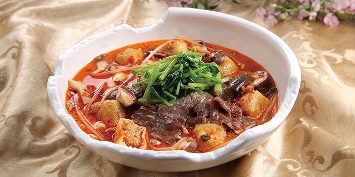 Boiled beef, Greenland Spicy Crab, Tsim Sha Tsui, Hong Kong