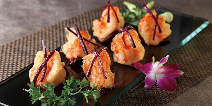 Red Plum crispy shrimp balls, Greenland Spicy Crab, Tsim Sha Tsui, Hong Kong