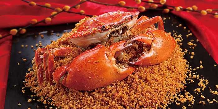 Typhoon Shelter styled fried spicy crabs, Greenland Spicy Crab, Tsim Sha Tsui, Hong Kong