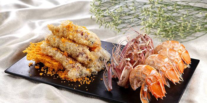 Lazy man peeled mantis shrimps, Greenland Spicy Crab, Tsim Sha Tsui, Hong Kong