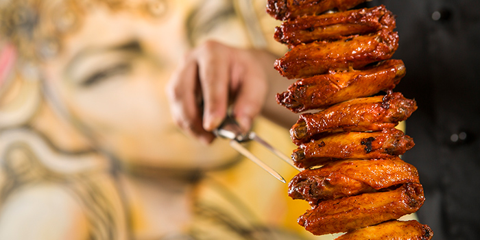 Chicken Wings, Braza Churrascaria Brazilian Steakhouse, Central, Hong Kong