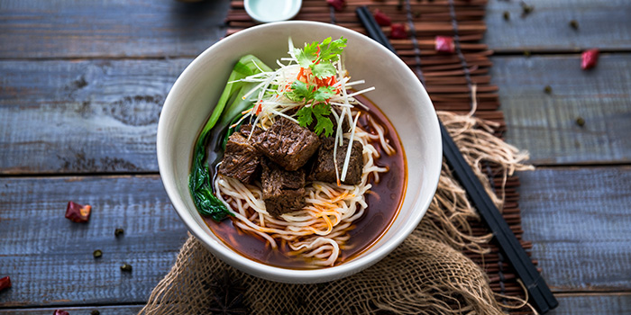 Beef Noodles from Auntie