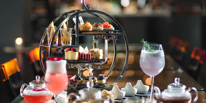 Afternoon Tea from Vertigo TOO at Banyan Tree Bangkok in Sathorn, Bangkok
