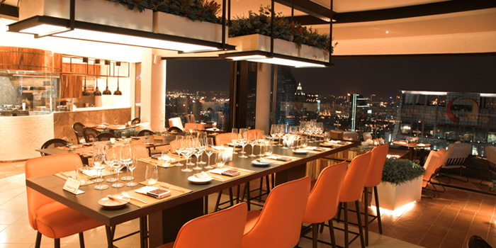 Ambience of UNO MAS at Centara Grand at Central World, Rama 1 Road, Bangkok