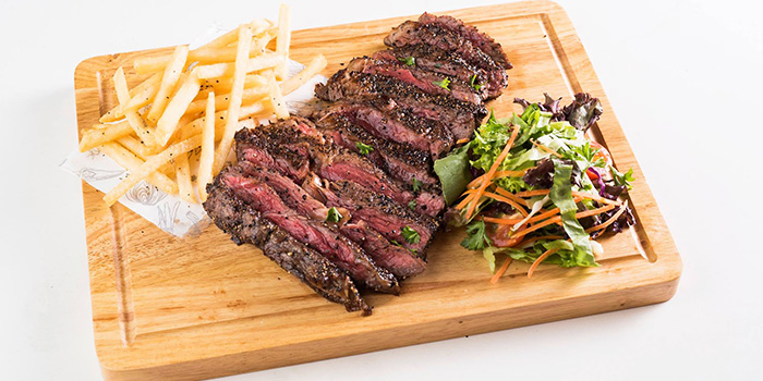 Angus Ribeye from The Quarters in Tanjong Pagar, Singapore
