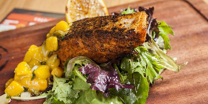 Atlantic Grilled Salmon, Cali-Mex Bar and Grill, Lan Kwan Fong, Hong Kong