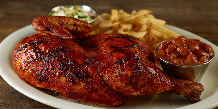 BBQ Chickenfrom Hard Rock Cafe Bangkok in Siam Square Soi 11, Bangkok