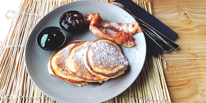 Pancakes from Big Fat Mama in Sentosa, Singapore