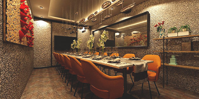 Dining Area of Blue Lotus - Chinese Grill House at Tanjong Pagar Centre in Tanjong Pagar, Singapore