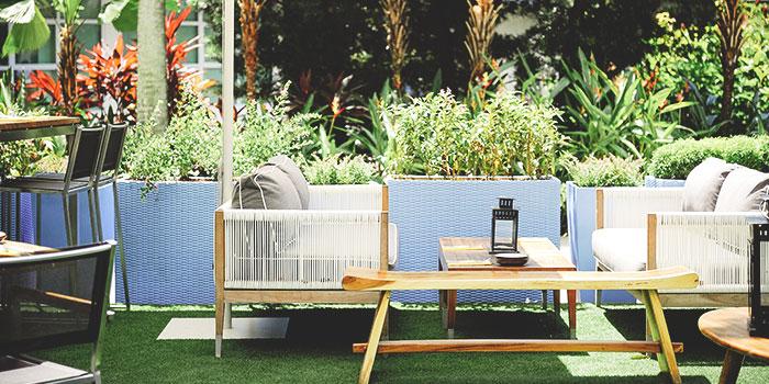 Outdoor Dining Area of Blue Lotus Mediterranean Kitchen & Bar in Queenstown, Singapore