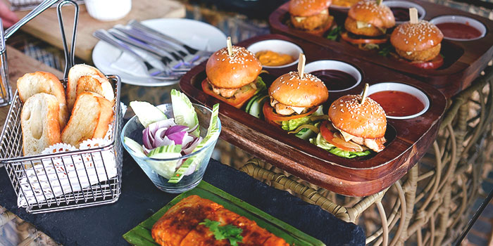Bar Snacks from Graffiti Sky Bar in Carlton City Hotel, Tanjong Pagar, Singapore
