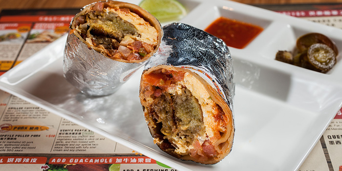 Breakfast Burrito, Cali-Mex, Kennedy Town, Hong Kong