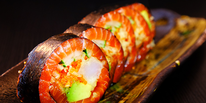 Carbless Roll from Sen of Japan at Marina Bay Sands in Marina Bay, Singapore