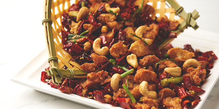 Chong Qing-style Firecracker Chicken from Lao Bei Jing at Novena Square in Novena, Singapore