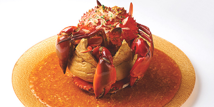 Chilli Crab from Dancing Crab in Orchard, Singapore