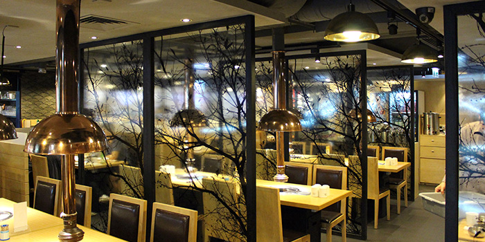 Dining Area, Hancham BBQ Restaurant (Winfield Commercial Building), Tsim Sha Tsui, Hong Kong