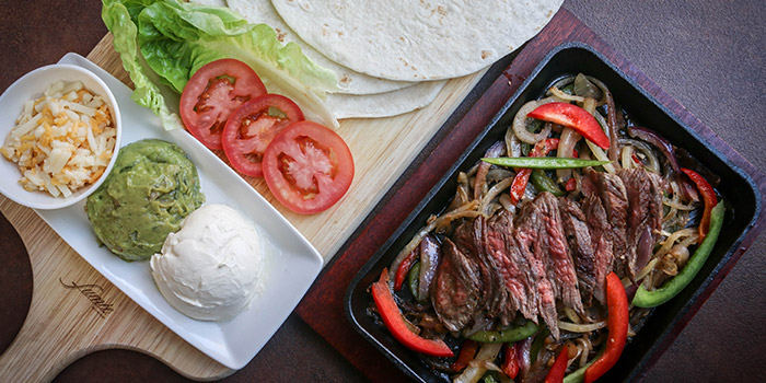 Fajitas from Fumee by Habanos at Millenia Walk in Promenade, Singapore