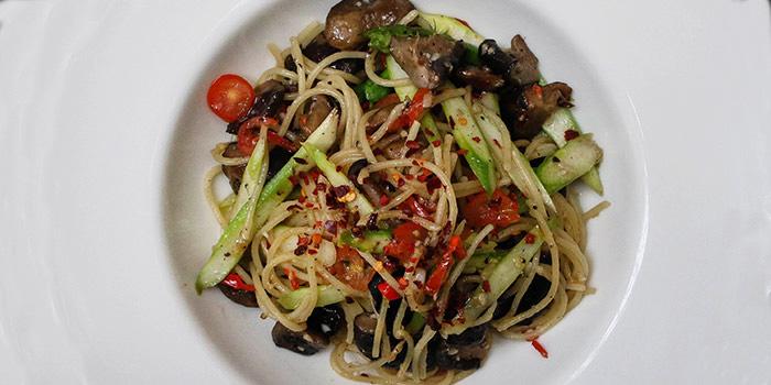 Vegetarian Pasta from Fumee by Habanos at Millenia Walk in Promenade, Singapore