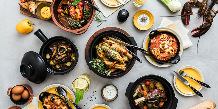 Food Spread (The Green Oven) from Alley on 25 in Andaz Singapore in Bugis, Singapore