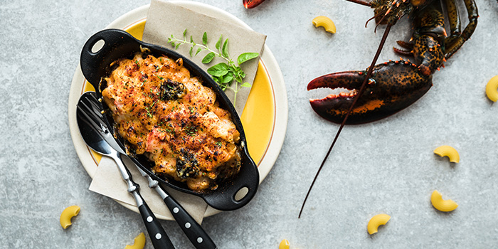Lobster Mac & Cheese (The Green Oven) from Alley on 25 in Andaz Singapore in Bugis, Singapore