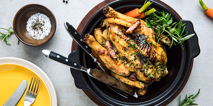 Roasted Chicken (The Green Oven) from Alley on 25 in Andaz Singapore in Bugis, Singapore