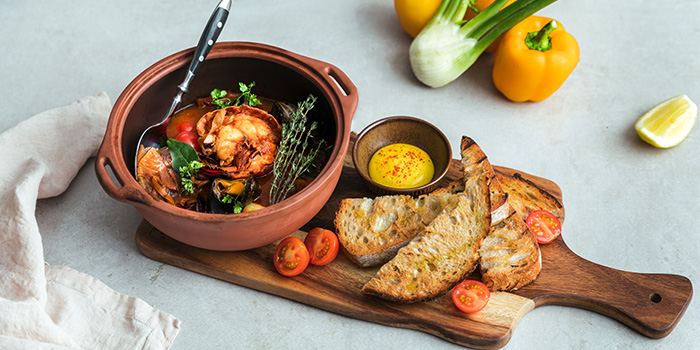 Bouillabaisse (The Green Oven) from Alley on 25 in Andaz Singapore in Bugis, Singapore