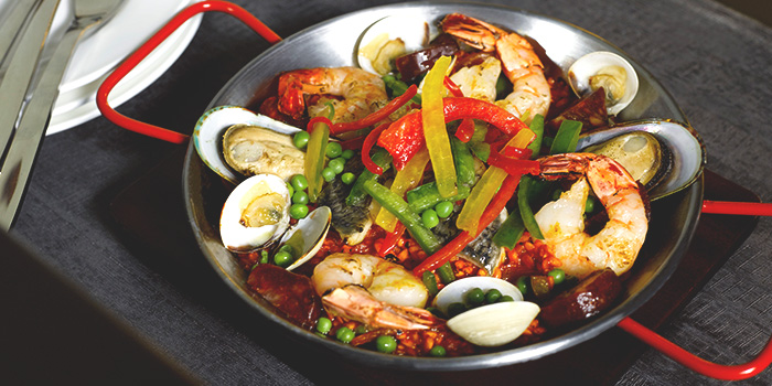 Paella Valencia from Glasshouse by DHM at The Heeren in Orchard, Singapore