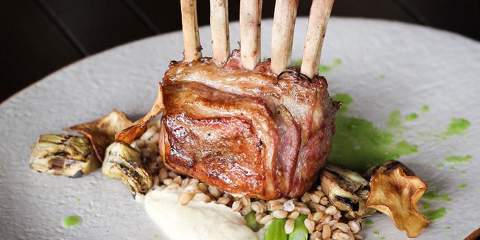 Grilled Lamb Rack from Favola at Le Méridien Suvarnabhumi, Bangna, Bangkok