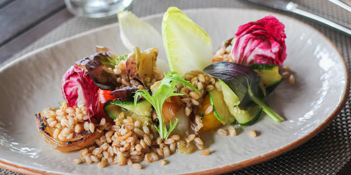 Grilled Veggie Salad from Favola at Le Méridien Suvarnabhumi, Bangna, Bangkok