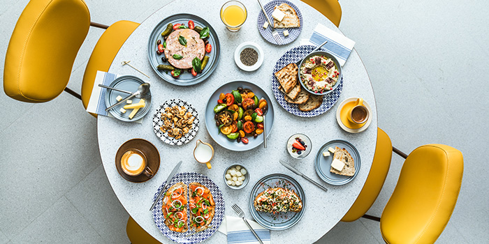 Food Spread (Icehaus) from Alley on 25 in Andaz Singapore in Bugis, Singapore