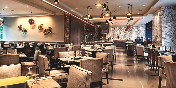 Interior of Plate in Carlton City Hotel, Tanjong Pagar, Singapore