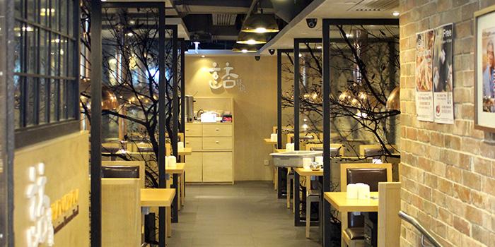 Interior, Hancham BBQ Restaurant (Winfield Commercial Building), Tsim Sha Tsui, Hong Kong