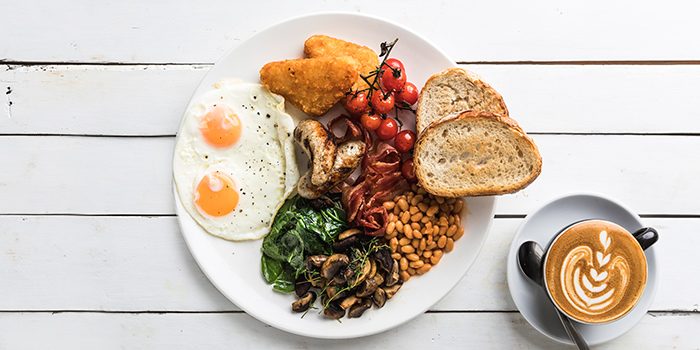 The Jones Big Breakfast from Jones the Grocer (Great World City) in Tiong Bahru, Singapore