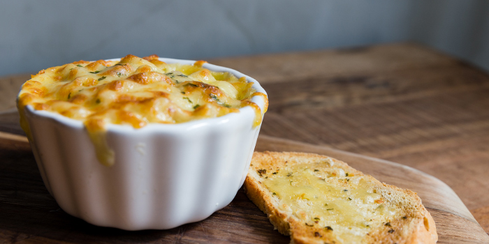 Oven Baked Mac & Cheese from Knots Cafe and Living at Orion@PayaLebar in Paya Lebar, Singapore