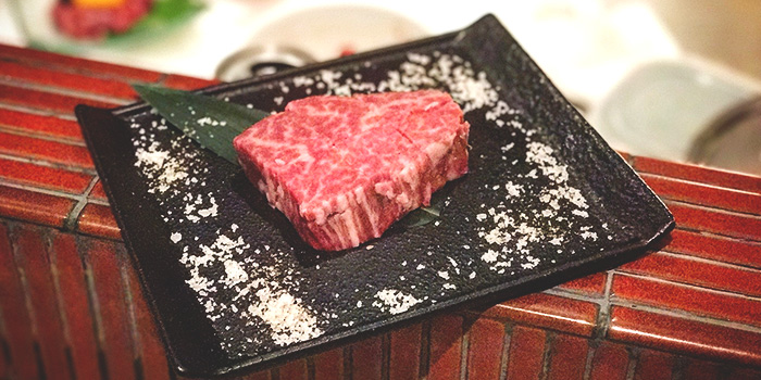 A4 Wagyu Fillet from Niku Katsumata in Duxton, Singapore